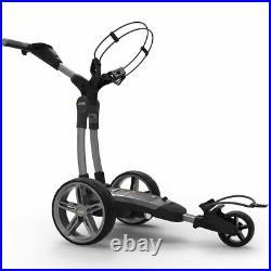 PowaKaddy FX7 GPS Gun Metal Electric Golf Trolley 2020 18 Hole Lithium