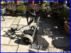Powacaddy electric trolley. With brand new lithium battery