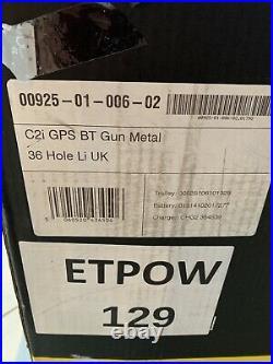 Powakaddy 2019 C2i Electric Trolley GPS 36 Hole Lithium Battery