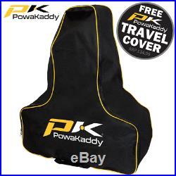 Powakaddy 2020 Fx3 36 Hole Lithium Golf Trolley Black +free £34.99 Travel Cover
