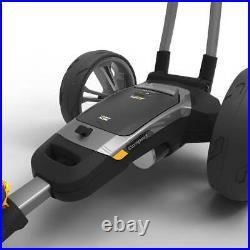 Powakaddy 2021 CT6 36 Hole Lithium Golf Trolley Gun Metal