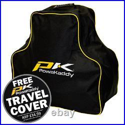 Powakaddy 2021 Ct6 Ebs 18 Hole Lithium Golf Trolley +free £34.99 Travel Cover