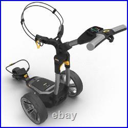 Powakaddy 2021 Ct6 Gps 18 Hole Lithium Golf Trolley +free Umbrella Holder