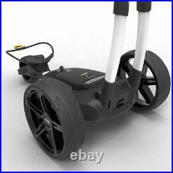 Powakaddy 2021 Fx3 18 Hole Lithium Golf Trolley White +free £34.99 Travel Cover