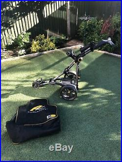 Powakaddy C2 Compact Electric Golf Trolley With Lithium Battery And Charger