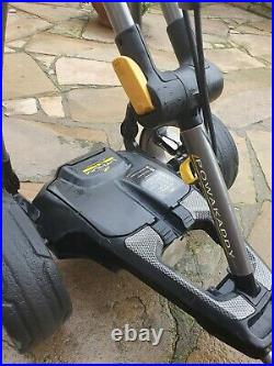 Powakaddy C2 Compact Electric Golf Trolley XL Extended Lithium Battery