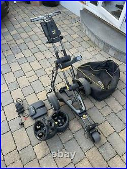 Powakaddy C2i 18 Hole Lithium Electric Trolley Including Accessories & Bag