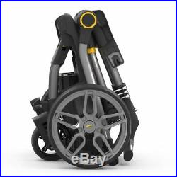 Powakaddy C2i Compact Electric Trolley with plus Free Travel Cover C2 2018 Model