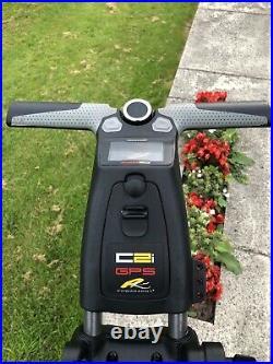 Powakaddy C2i GPS Electric Trolley Lithium Excellent Condition £800 New PGA SALE