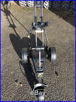 Powakaddy C2i compact 18 Hole lithium electric golf trolley. Powakaddy Recon
