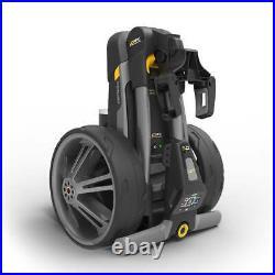 Powakaddy CT6 18 Hole Lithium Trolley Gun Metal One Size