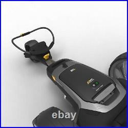 Powakaddy CT6 Electric Golf Trolley 18 Hole Lithium FOC Umbrella holder