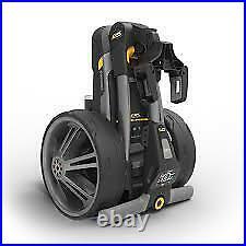 Powakaddy Ct6 Electric Trolley Gun Metal 18 Hole Lithium Battery