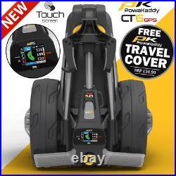 Powakaddy Ct6 Gps 18 Hole Lithium Golf Trolley +free Travel Cover / 2021 Model