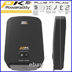 Powakaddy Ct6 Gps 18 Hole Lithium Golf Trolley +free Umbrella Holder 2021 Model
