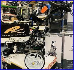 Powakaddy Digital Electric Golf Trolley Wide Base Beast New Lithium Battery