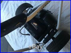 Powakaddy Electric golf trolley + lithium battery with pro dry bag
