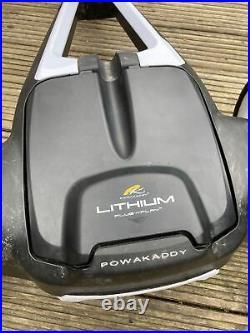 Powakaddy FW3S Electric Trolley Lithium Battery Umbrella Holder