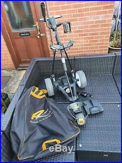 Powakaddy FW3 Lithium Powered Electric Golf Trolley & Bag Excellent Condition