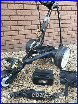 Powakaddy FW3 electric Golf Trolley, Superb, 18-27 hole Lithium battery, charger