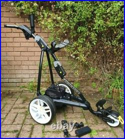 Powakaddy FW3 electric Golf Trolley, Superb, 18 hole Lithium battery, charger