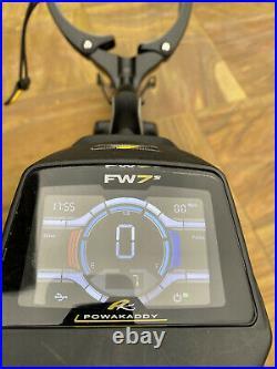 Powakaddy FW7S Golf Trolley with 18 Hole Lithium Battery