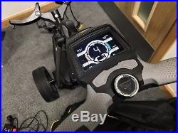 Powakaddy FW7s 18 Hole Lithium Electric Golf Trolley with Travel Cover