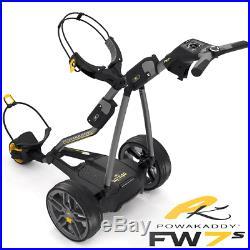Powakaddy FW7s 36 Hole Lithium Golf Trolley +Free Powakaddy Travel Cover