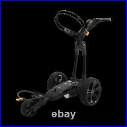 Powakaddy FX3 Electric Trolley / 18 or 36 Hole Battery / Black Frame