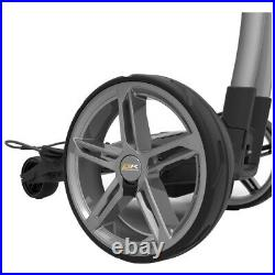 Powakaddy FX7 GPS Electric Golf Trolley 18 Hole Lithium + FREE Umbrella Holder