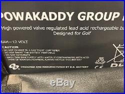 Powakaddy Freeway 2 FWII Trolley. Just 8 Rounds old. (Lithium Option available)