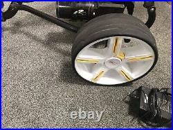 Powakaddy Freeway Digital Trolley with Lithium Battery and Upgraded Wheels