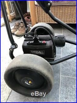 Powakaddy Freeway Electric Golf Trolley. 36 Hole Lithium Battery