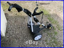Powakaddy Freeway FW5i Electric Golf Trolley 18 Hole Lithium Battery (White)
