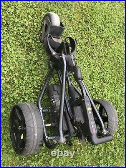 Powakaddy Freeway Golf Trolley With Lithium Battery, Complete With Powakaddy Bag