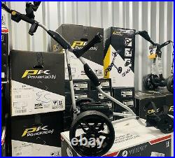 Powakaddy Freeway Stealth Edition Electric Golf Trolley- New Lithium Battery