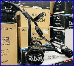 Powakaddy Fw3 Blackout Edition Electric Golf Trolley 36 Hole Lithium New Wheels