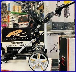 Powakaddy Fw3 Electric Golf Trolley Lithium Battery- Polar White- 24 Hr Delivery