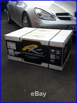 Powakaddy Fw3s White Electric Golf Trolley Brand New 18 Hole Lithium Battery