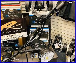 Powakaddy Fw5 Electric Golf Trolley Lithium New Wheels 24 Hour Delivery