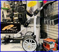 Powakaddy Fw5 Electric Golf Trolley New Lithium Battery- New Wheels- 24 Hr Del