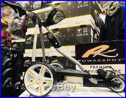 Powakaddy Fw7 18 Hole Lithium Electric Golf Trolley New Wheels 24hr Delivery
