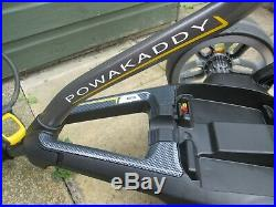Powakaddy Fw7s Ebs Electric Golf Trolley, Lithium Battery, Charger
