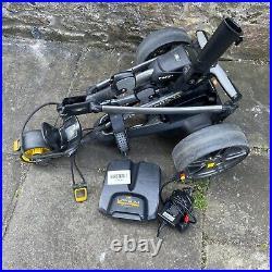 Powakaddy Fw7s Electric Trolley / Black/carbon / Lithium 36 Hole Battery