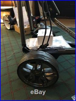 Powakaddy Fw7s Gps New Electric Golf Trolley 18 Hole Lithium Battery