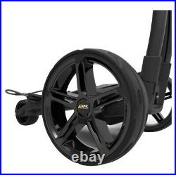 Powakaddy Fx3 Electric Golf Trolley, 18 Hole Lithium. Black. NEW