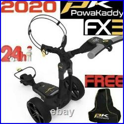 Powakaddy Fx3 Electric Golf Trolley 2020 Edition-free Accessory 24 Hour Delivery