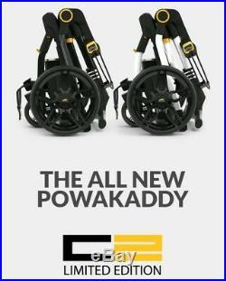 Powakaddy Limited Edition Compact C2 Electric Lithium Trolley (polar White)