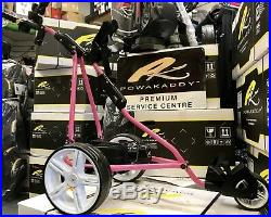 Powakaddy Limited Edition Electric Golf Trolley New Lithium Battery 24hr Deliver