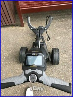 Powakaddy Reconditioned Fw7 Ebs Trolley With 18 Hole Lithium Battery + Charger